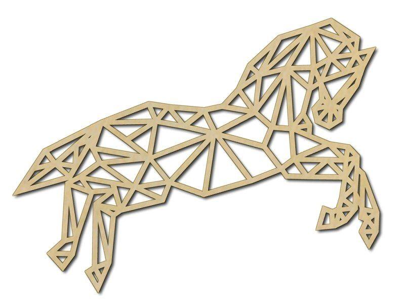 Nástěnná dekorace kůň