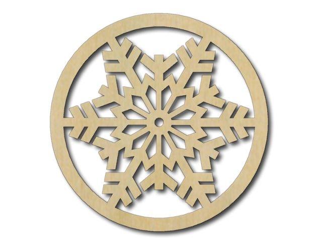 dřevěný podtácek vánoční