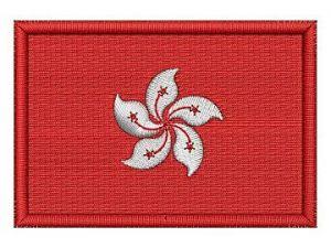 Nášivka Vlajka Hongkong