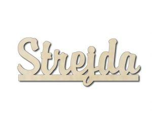 Dřevěná dekorace Strejda