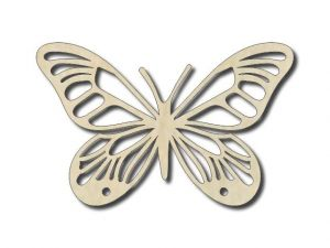 Vyřezávaný motýl 2