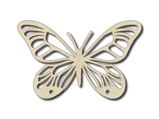 výřez motýyl