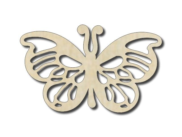 výřez motýl