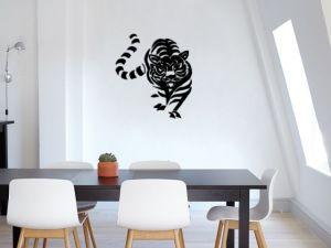 černá dekorace v interiéru