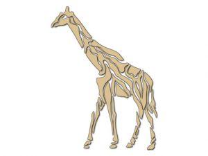 Dekorace velká Žirafa