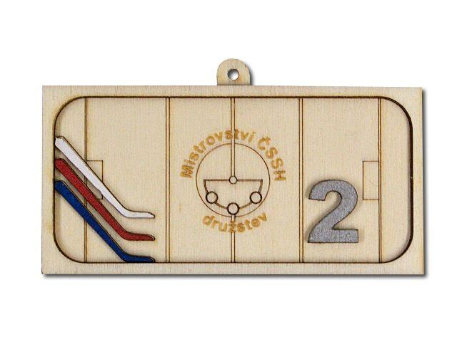 dřevěná medaile ČSSH