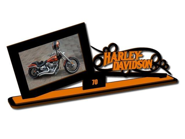 fotorámeček s motivy Harley Davidson