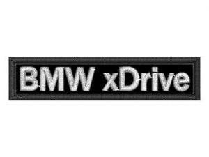 Nášivka BMW xDrive