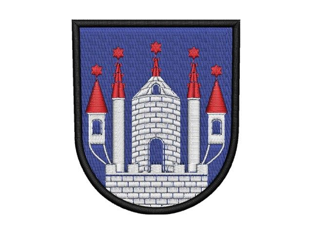 nášivka Zábřežský znak