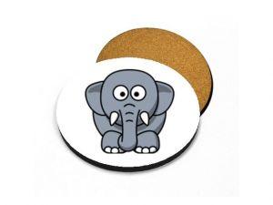 Podtácek pod hrnek slon