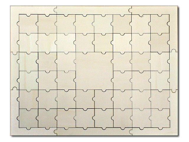 svatební puzzle obdélník