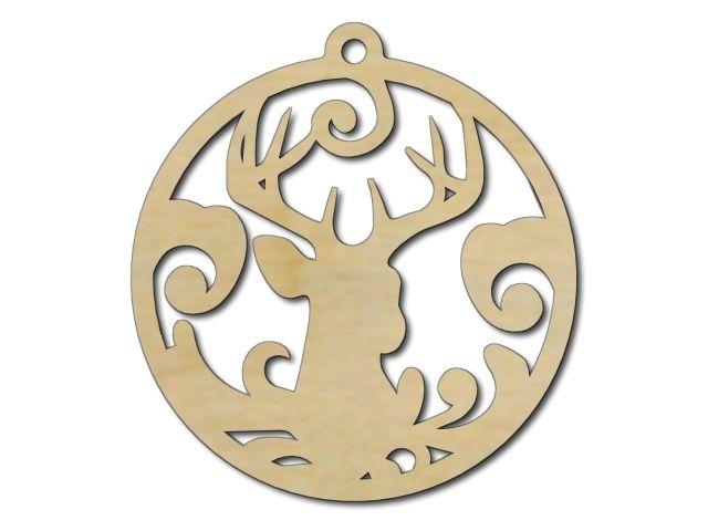 vánoční ozdoba jelen