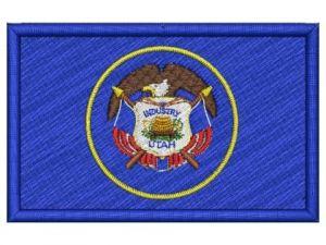 Nášivka Utah vlajka