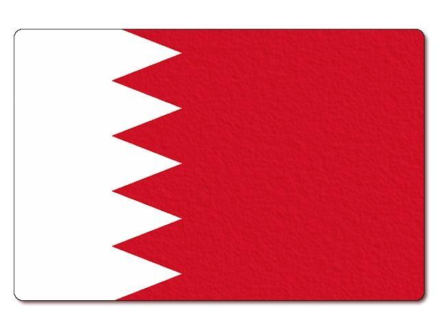 Tištěná bahrajnská vlajka