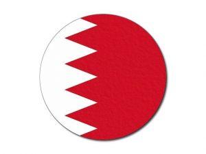 Bahrajnská vlajka kulatá tisk