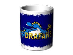 Hrnek bílý Drafans