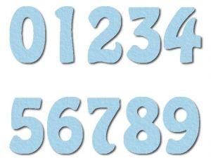 Číslice 07 filc 7,5 cm