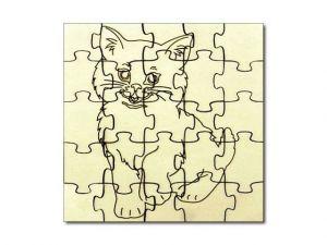 Puzzle Kočka