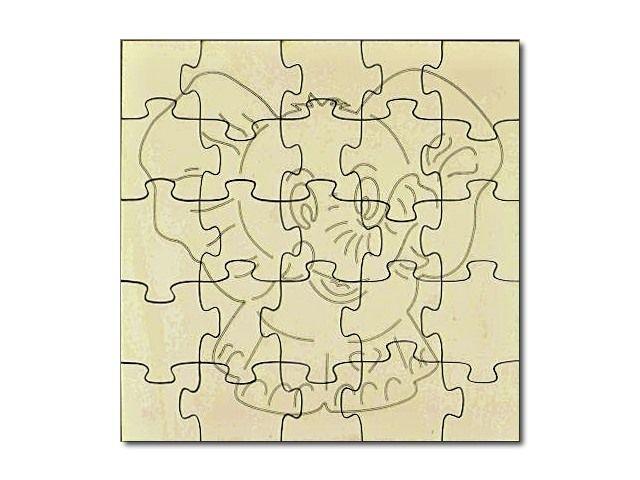 Puzzle v přírodním stavu