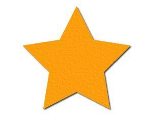 Filcová hvězda 1 - 5 cípů