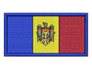 Nášivka Moldavská vlajka