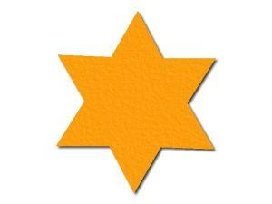Filcová hvězda 1 - 6 cípů
