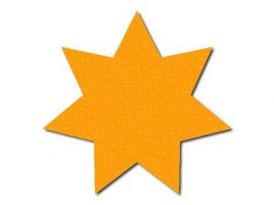 Filcová hvězda 1 - 7 cípů