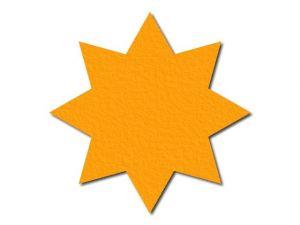 Filcová hvězda 1 - 8 cípů