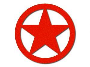 Filcová hvězda 3 - 5 cípů
