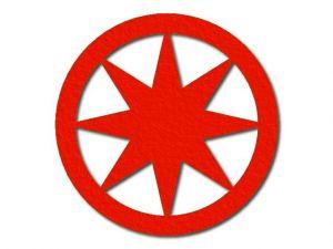 Filcová hvězda 3 - 8 cípů