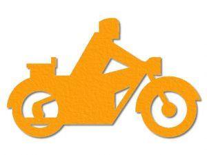 Filcová motorka