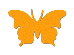 Filcový motýl 01