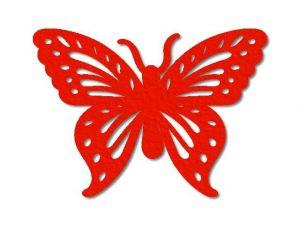 Filcový motýl 04
