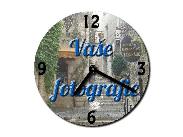 hodiny s vlastní fotografií