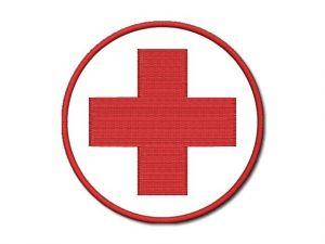 Nášivka Červený kříž