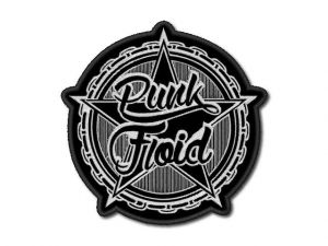 Nášivka Punk Floid čb
