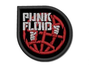 Nášivka Punk Floid červená