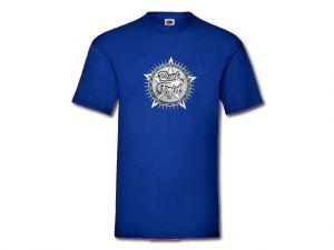 Triko Punk Floid modré