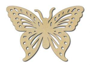 Vyřezávaný motýl 5