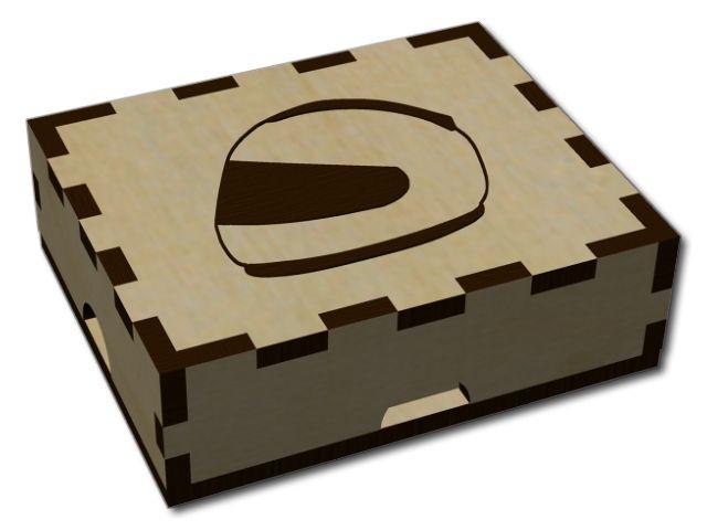 Dárková krabička na vyšívané SPZ
