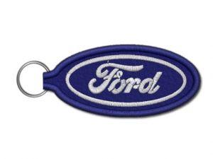 Klíčenka Ford vyšívaná