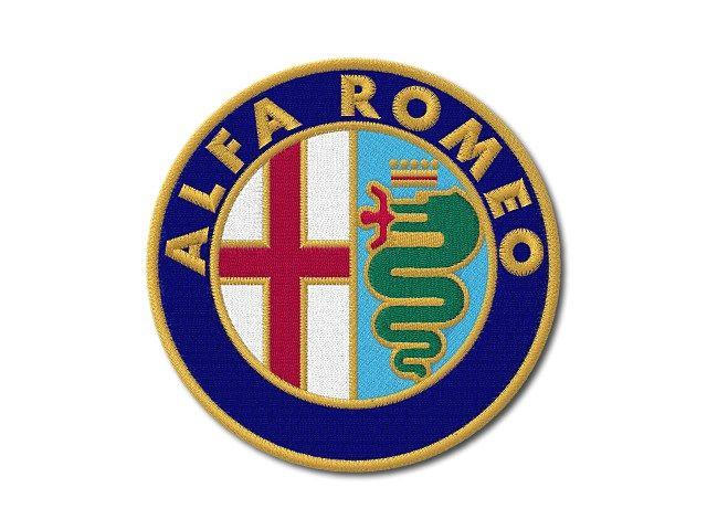 Nášivka Alfa Romeo