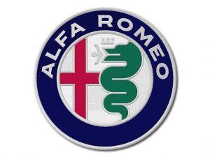 Nášivka Alfa Romeo maxi new