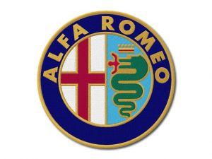 Nášivka Alfa Romeo maxi