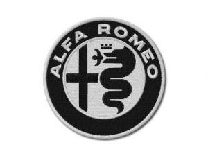 Nášivka Alfa Romeo new ČB