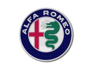 Nášivka Alfa Romeo new