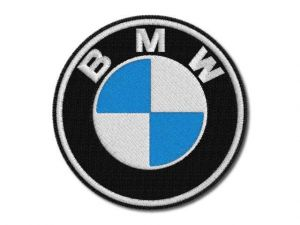 Nášivka BMW