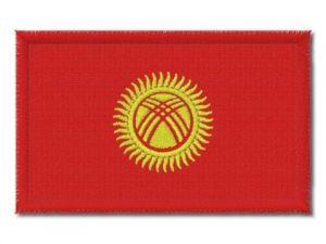 Nášivka Kyrgyzstánská vlajka
