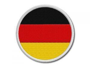 Nášivka Německá vlajka kulatá