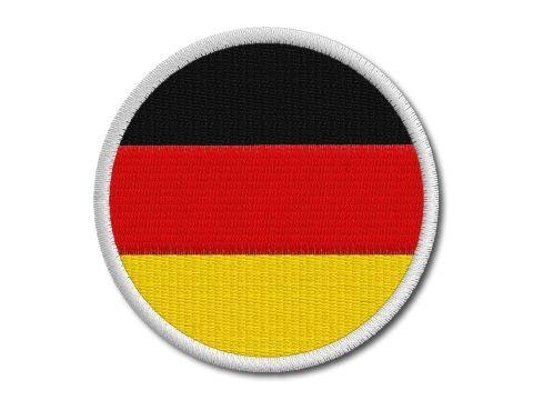 Německá vlaječka kulatá